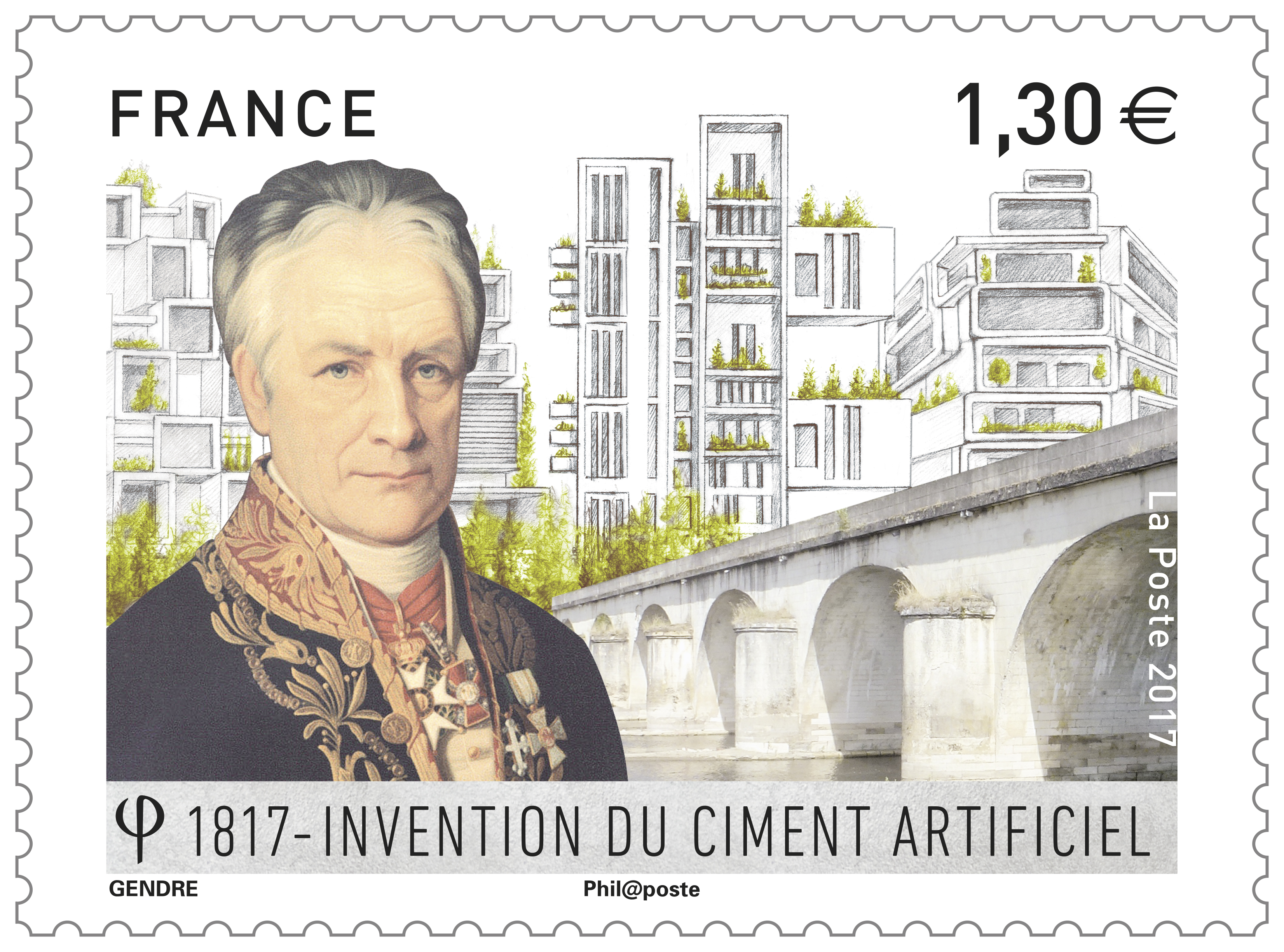 Emission 1817 : Invention du ciment artificiel
