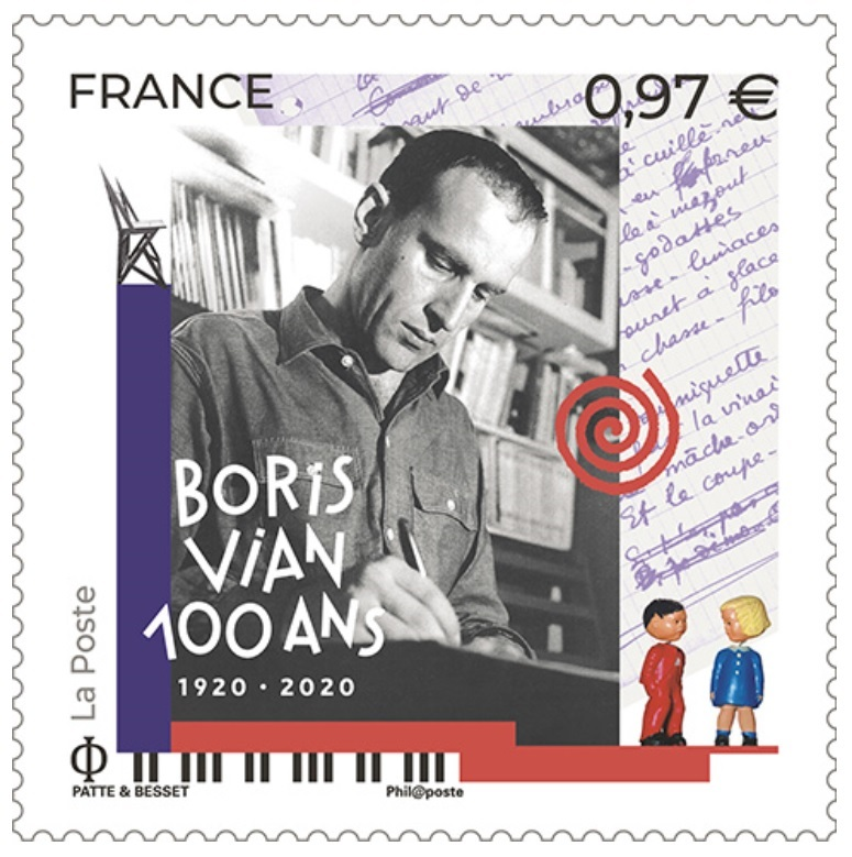 Emission Boris Vian (1920 - 2020)
