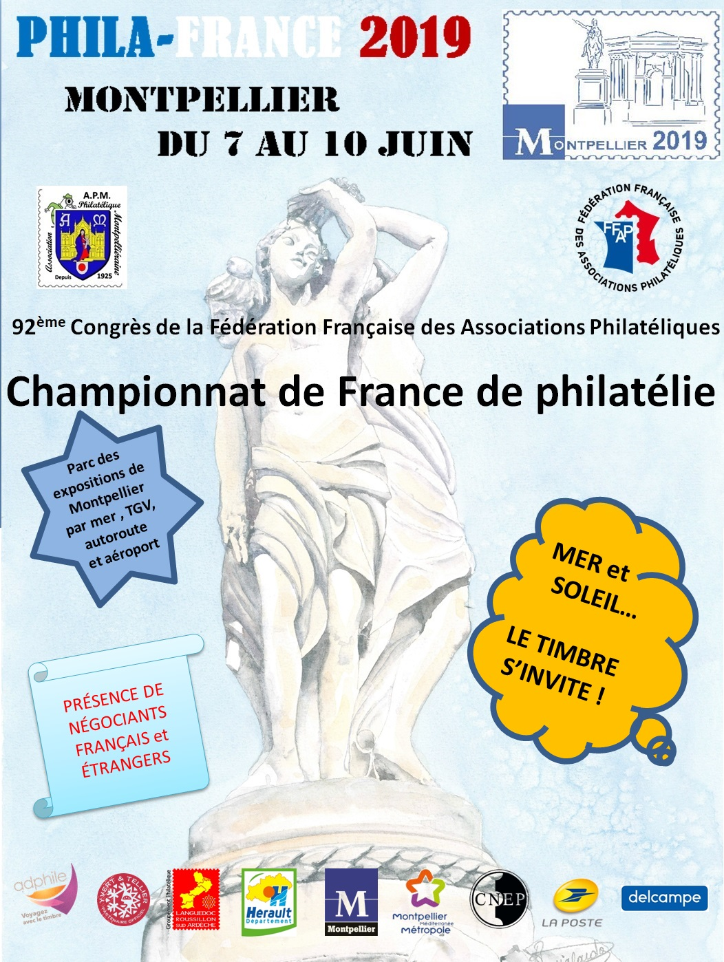 Flyer Montpellier 2019