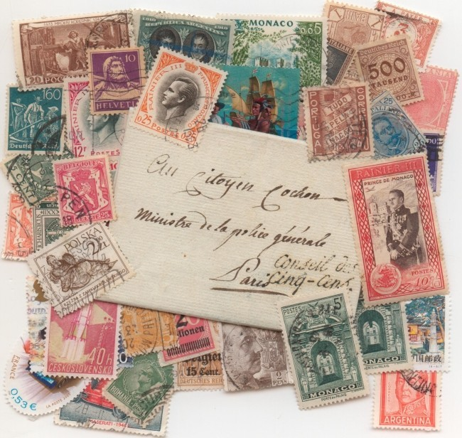 collectionner les timbres